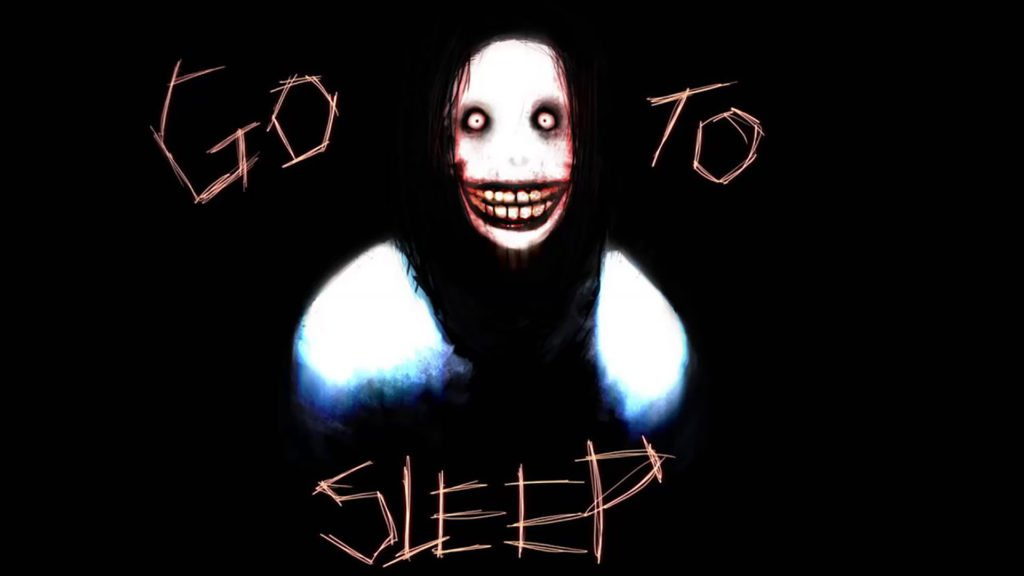 "Jeff The Killer ""go to sleep"""
