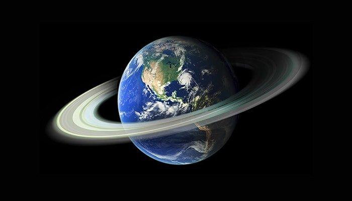 ¿Por qué la Tierra no tiene anillo?