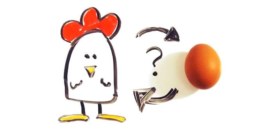 ¿Qué fue primero: el huevo o la gallina? - 2