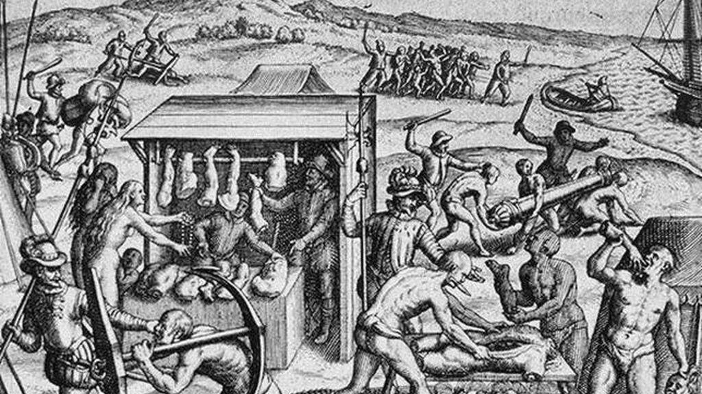 esclavizacion de indigenas