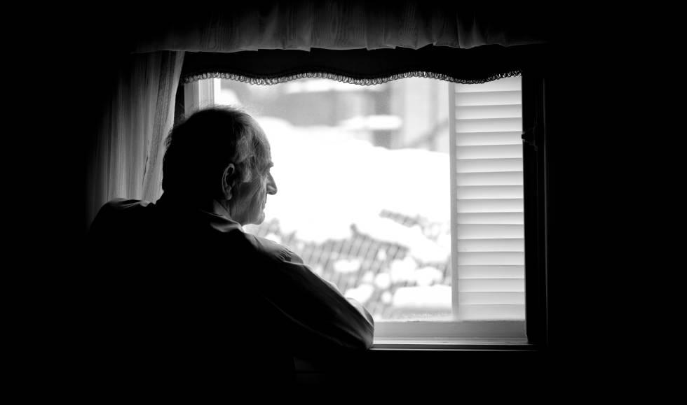 Abuelo ventana