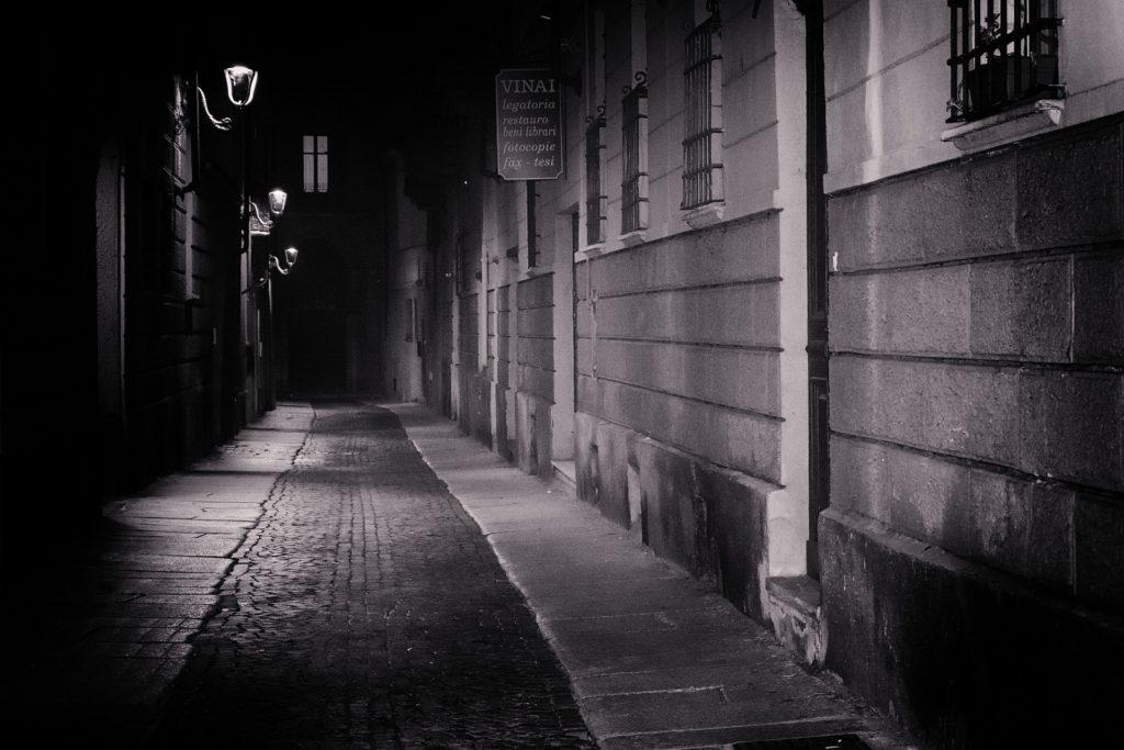 Calle asolada