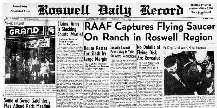 El caso de Roswell